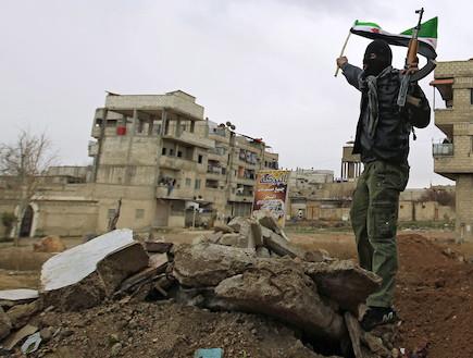 צבא סוריה החופשית (צילום: במחנה)