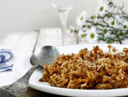 אורז עם בשר טחון - מוכן (צילום: אפיק גבאי, אוכל טוב)