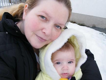 היידי אור - לידה עולמית (צילום: היידי אור, צילום ביתי)