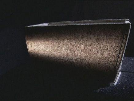 הגלוסקמה העומדת במרכז הפרשה (צילום: חדשות 2)