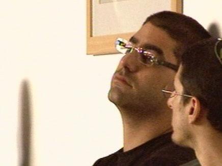 מוטי חסין בבית המשפט (צילום: חדשות 2)