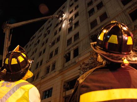 רעש האדמה בסנטיאגו, אמש (צילום: AP)