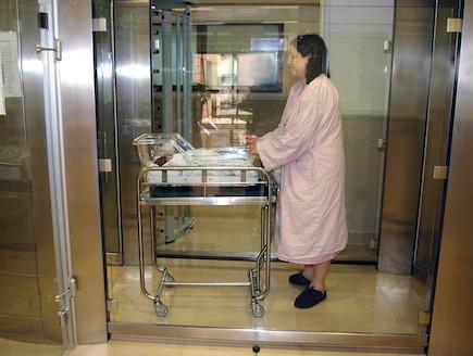 מערכת זיהוי חדשנית - בית חולים תל השומר (צילום: יחידת צילום תל השומר)