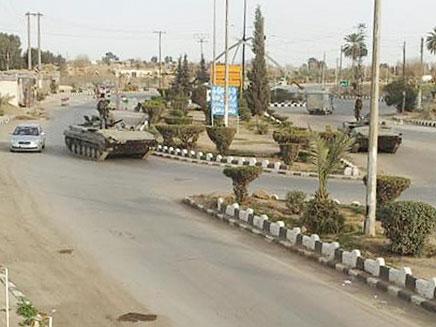 בסיס צבאי בסוריה, ארכיון (צילום: רויטרס)