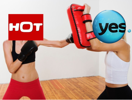 yes נגד הוט (צילום: אילוסטרציה)