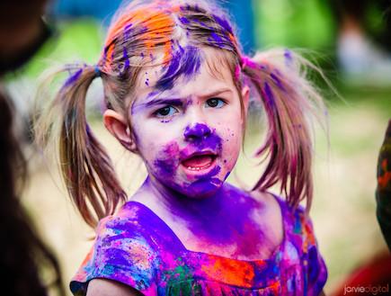 פסטיבל הצבעים (צילום: jarviedigital)