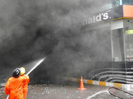 9 הרוגים בסדרת פיצוצים בתאילנד (צילום: רויטרס)