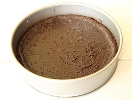 עוגת שוקולד לפסח 6 (צילום: חן שוקרון, אוכל טוב)