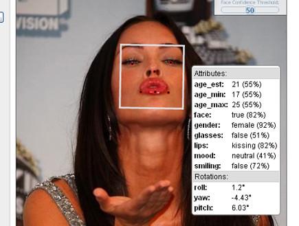 מייגן פוקס (צילום: face.com)