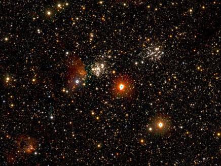 תמונה של אחת לעשור: מיליארד כוכבים בתמונה (צילום: סקיי ניוז)
