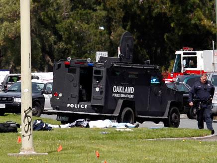 נפגעים רבים מהירי, ארכיון (צילום: רויטרס)