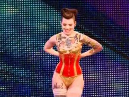 ביאטריקס וון בורבון (צילום: Britain's Got Talent)
