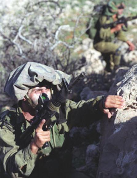 """לוחמים מסיירת אגוז (צילום: אתר צה""""ל)"""