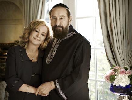 הרב וקרן ברג צילום פיטר גרין (צילום: פיטר גרין)