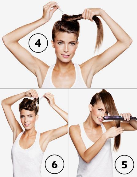 מראה All tied up מתוך קטלוג עיצוב השיער לחורף 2011