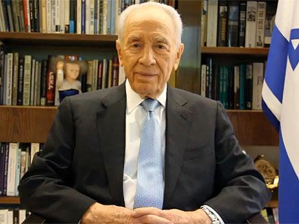 שמעון פרס (צילום: חדשות 2)