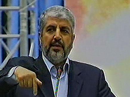 חאלד משעל מאיים, היום בקטאר (צילום: חדשות 2)