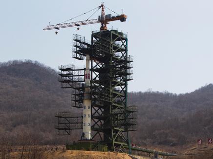 אתר השיגור במזרח המדינה, ארכיון (צילום: AP)