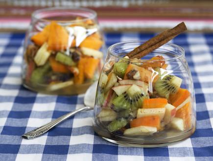 סלט פירות של סוף החורף (צילום: אפיק גבאי, אוכל טוב)