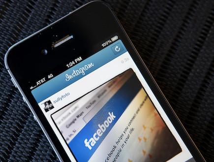 פייסבוק, אינסטגרם (צילום: Justin Sullivan, GettyImages IL)