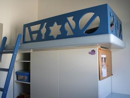 הבית בטובעון - חדר ילדים 2 (צילום: שרון קנה)