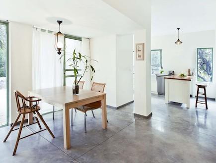 הבית בטבעון - פינת אוכל (צילום: שרון קנה)