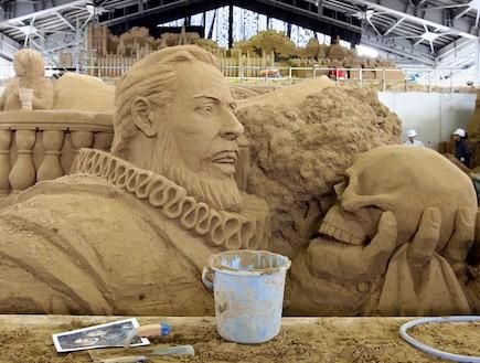 פסל חול 4 (צילום: אימג'בנק/GettyImages, getty images)