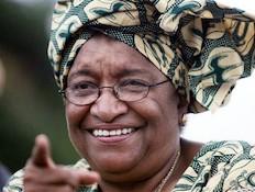 אלן ג'ונסון נשיאת ליבריה