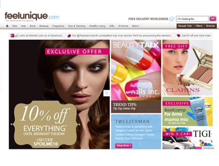 האתר http://www.feelunique.com/