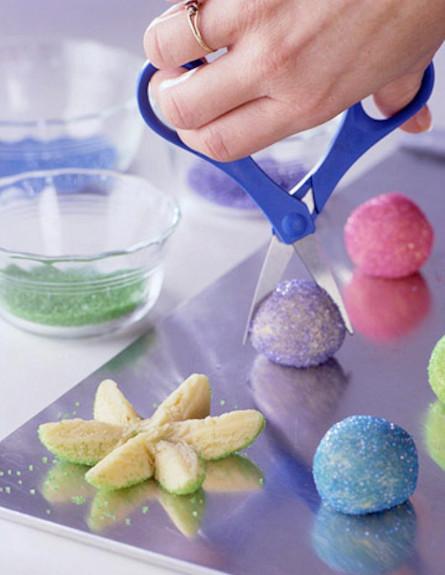 עוגיות פרח 1 (צילום: צילום מסך מהאתר bhg.com)
