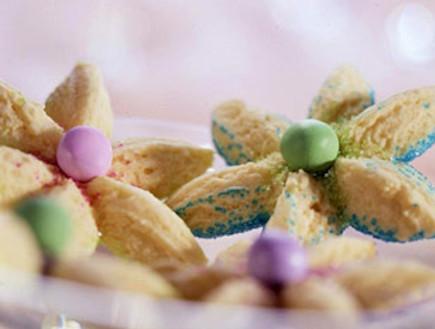עוגיות פרח 2 (צילום: צילום מסך מהאתר bhg.com)