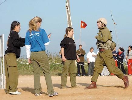 כושר קרבי (צילום: חגי הישרפלד, במחנה)