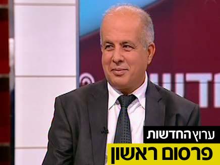 """יו""""ר ההתאחדות אבי לוזון (צילום: חדשות 2)"""