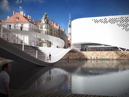 אדירכלות פולנית. עיצוב מודרני וייחודי (וידאו WMV: lina architekci, living)