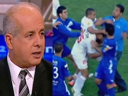 אלימות על מגרשי הכדורגל, אלי לוזון (צילום: חדשות 2)