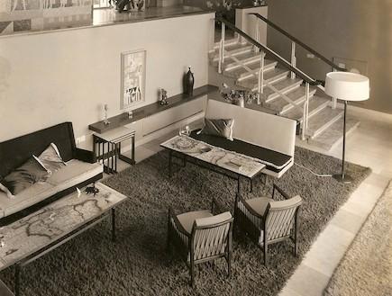 פינת ישיבה, בית שרובר, שנות ה-50