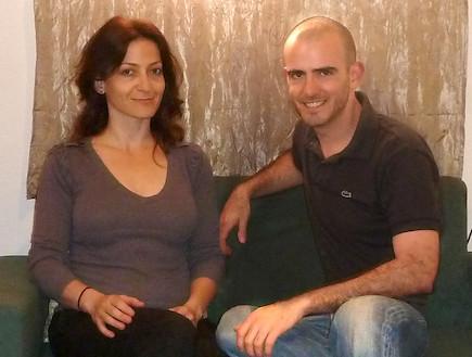 ארי אהרונסון ורחלי לוין (צילום: תומר ושחר צלמים)