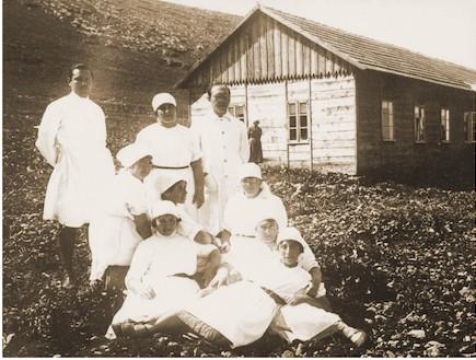 בית היולדות הראשון בישראל (צילום: באדיבות מוזיאון בית שטורמן)