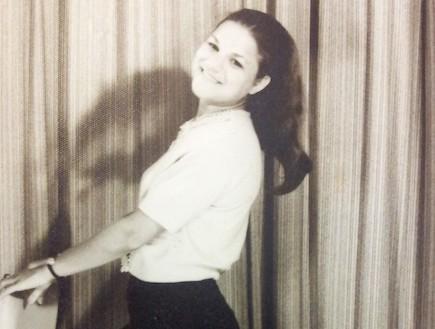 מיכל דליות בגיל 19 (צילום: תומר ושחר צלמים)