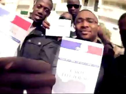 בחירות בצרפת (צילום: חדשות 2)