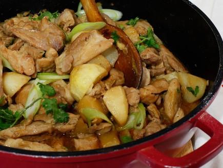 פרגיות ותפוחי אדמה - אחרי (צילום: אפיק גבאי, אוכל טוב)