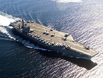 נושאת מטוסים (צילום: צבא ארצות הברית)