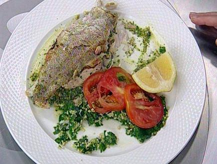 כריך דגים מפילה לוקוס (תמונת AVI: mako)