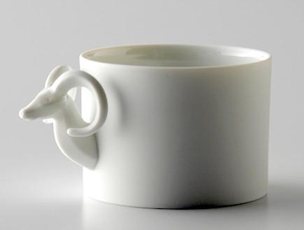 עיצוב חיות, כוס בצורת צבי (וידאו WMV: מתוך אתר: http://www.eza-animal.com/mag/, living)