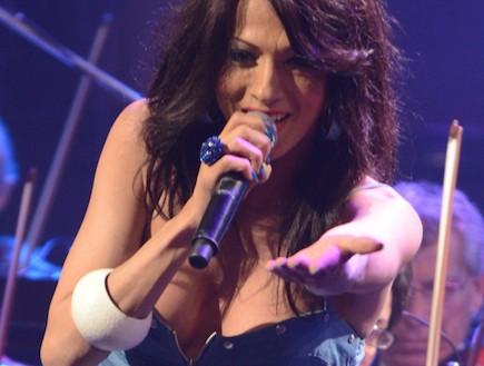 מופע אירוויזיון (צילום: שרון רביבו)