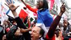 תומכי הולנד חגגו בשבוע שעבר (צילום: AP)