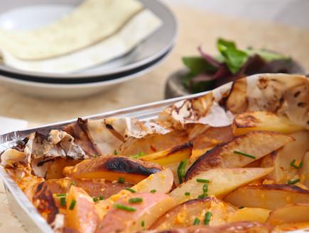 תפוחי אדמה ברוטב צ'ילי מתוק (צילום: בני גם זו לטובה, אוכל טוב)