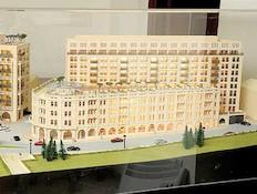 מלון ולדרוף אסטוריה - מודל (צילום: איל יצהר)
