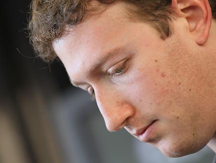 """מייסד ומנכ""""ל פייסבוק, מארק צוקרברג (צילום: Justin Sullivan, GettyImages IL)"""