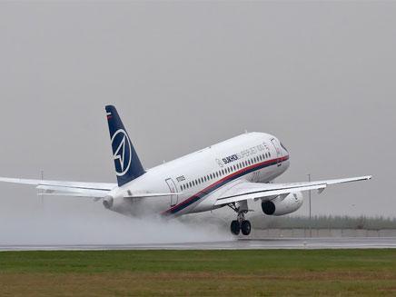 המטוס דקות לפני טיסתו האחרונה (צילום: sergeydolya.livejournal.com)
